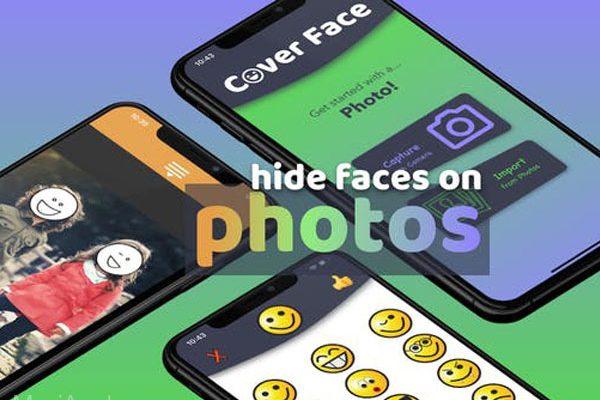 coverface iphone ipad gratuit maxiapple 01 600x400 - Cover Face iPhone - Cacher avec des Emojis des Personnes sur une Photo (gratuit)