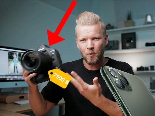 iphone 11 pro vs dslr photo comparatif video 01 - iPhone 11 Pro vs Canon 1DX Mark - Le Résultat va vous Surprendre (video)
