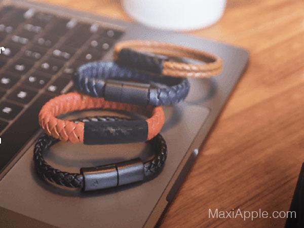 pd charging bracelet mode cable chargeur lightning usb c 05 - Cet Elégant Bracelet est un Cable Lightning Universel (video)