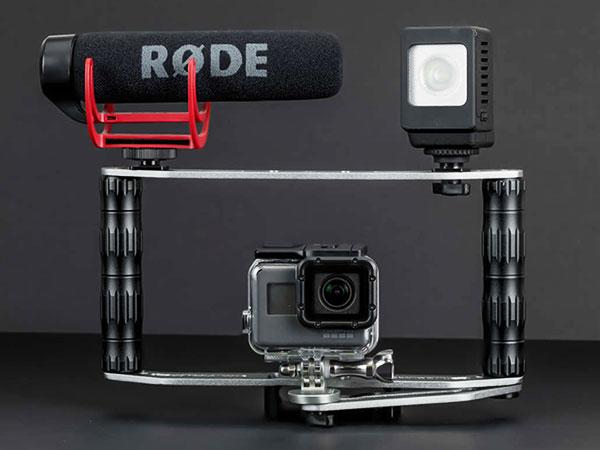 sandmarc film rig stabilisateur iphone smartphone maxiapple 04 - SandMarc Film Rig, Stabilisateur Manuel pour iPhone (video)