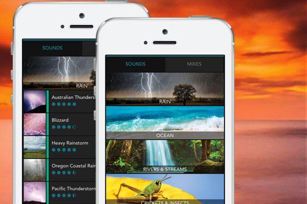 sleep sounds soothing iphone ipad maxiapple 01 600x400 - Soothing Sleep Sounds iPhone - Ambiances Sonores Binaurales (gratuit)