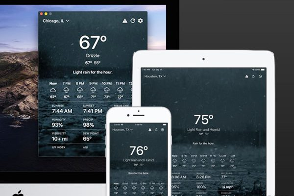 the weather outside macos mac iphone ipad maxiapple 01 600x400 - Outside Mac iPhone iPad - Météo sur Fond d'Ecran Dynamique