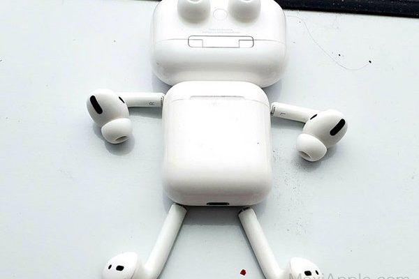 airpods pro detournement robot humour 01 600x400 - Ils Transforment les AirPods Pro en Robots Rigolos (images)