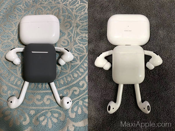 airpods pro detournement robot humour 02 - Ils Transforment les AirPods Pro en Robots Rigolos (images)
