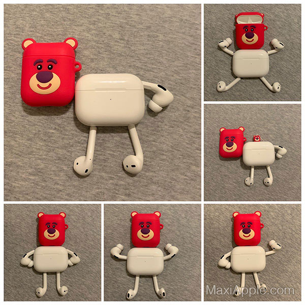 airpods pro detournement robot humour 04 - Ils Transforment les AirPods Pro en Robots Rigolos (images)