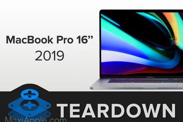 demonter macbook pro 16 2019 ifixit clavier 1 600x400 - MacBook Pro 16, Impossible à Démonter et à Faire Evoluer (video)