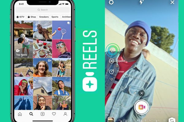 instagram reels iphone android copie tiktok clone 02 600x400 - Instagram Reels iPhone - L'Alternative à TikTok est Dispo (gratuit)