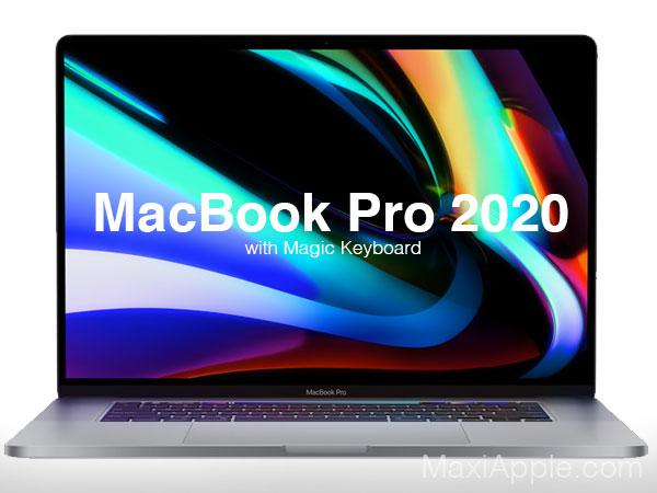 macbook pro ecran 16 2020 clavier magic keyboard 01 - MacBook Pro 16' 2019, le Mac Rêvé des Professionnels (video)