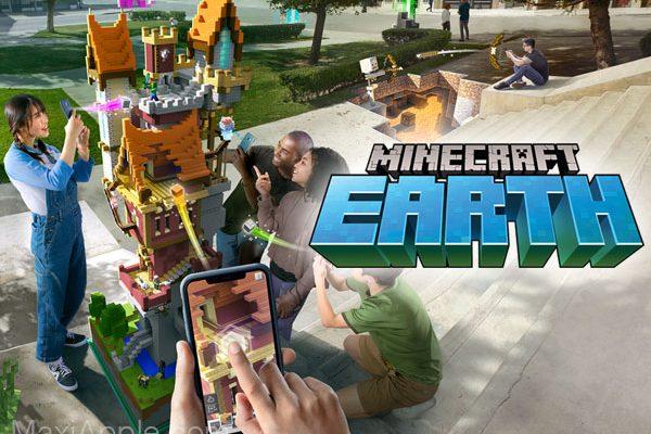 mojang jeu minecraft earth iphone ipad ios 01 600x400 - Jeu Minecraft Earth iPhone iPad en Réalité Augmentée Dispo (gratuit)
