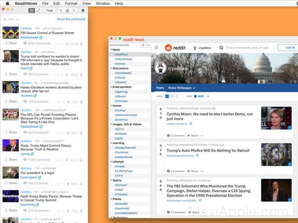 readit news app reddit macos mac 01 - Readit News Mac - Indispensable Client Reddit