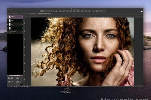 seashore macos mac 001 600x400 - Seashore Mac - Alternative à Photoshop Element (gratuit)