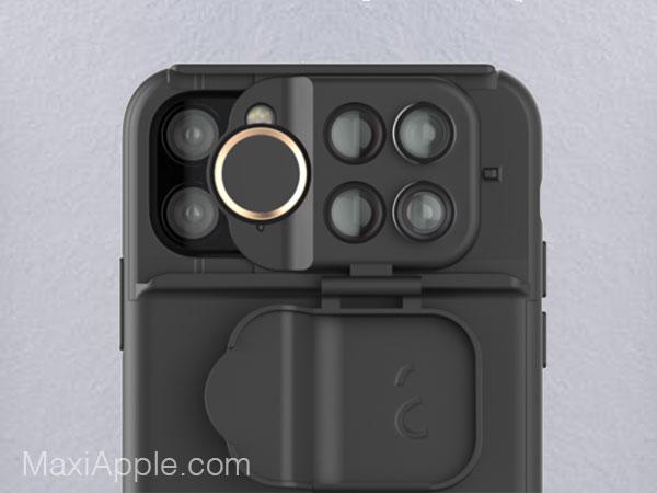 shiftcam coque optiques lentilles objectif iphone 11 02 - ShiftCam, 12 Optiques Pro pour une Coque iPhone 11 (video)