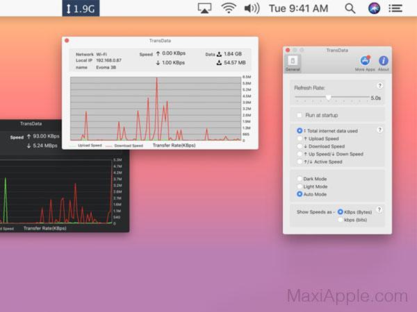 transdata macos mac 01 - TransData Mac - Surveiller votre Connexion d'Internet (gratuit)