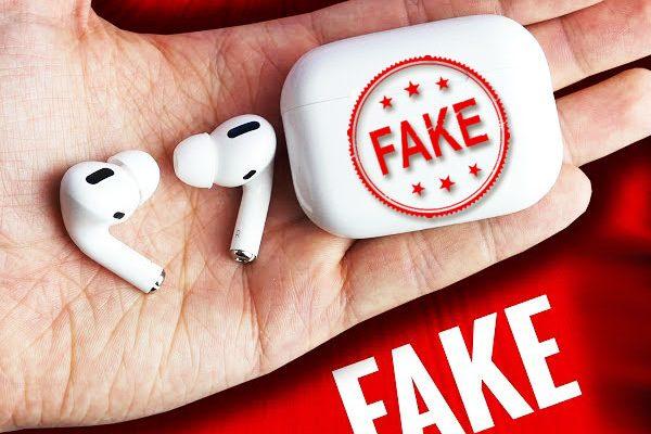 faux copie clone contrefacon airpods pro i500 tws 01 600x400 - Voici comment Reconnaitre les faux AirPods Pro (video)