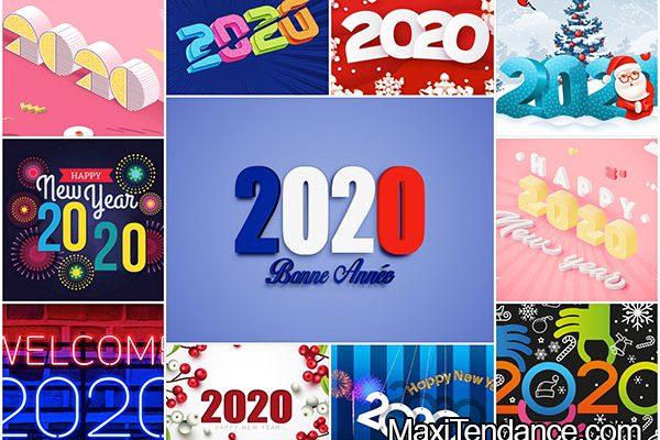 fond ecran bonne annee nouvel an hd 2020 01 600x400 - 80 Fonds d'Ecran HD Nouvel An 2020 Mac PC (gratuit)