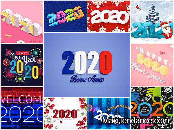 80 Fonds D Ecran Hd Nouvel An 2020 Mac Pc Gratuit