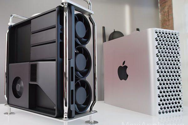 mac pro 2019 deballage tests benchmark video 03 600x400 - Mac Pro 2019 Déballage et Tests Professionnels (video)
