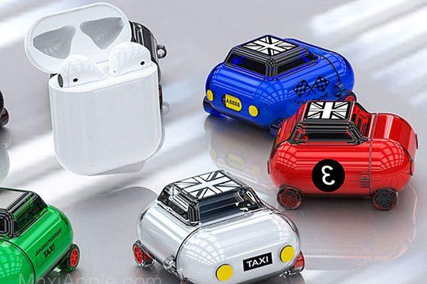 mini car airpods case protection austine voiture 01 600x400 - Cette Protection Transforme les AirPods en Austin Mini (images)