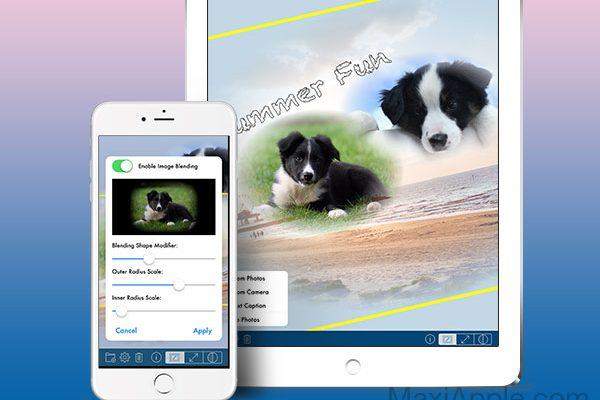 phototangler collage maker iphone ipad 1 600x400 - PhotoTangler iPhone iPad - Photo Collage pour les Fêtes (gratuit)