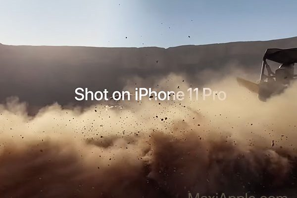 shot on iphone 11 pro pub apple desert 01 600x400 - L'iPhone 11 Pro dans le Désert d'Arabie Saoudite (video)