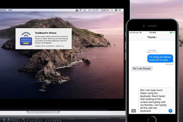 keypad bluetooth keyboard macos mac gratuit 01 600x400 - KeyPad, Utilisez le Clavier Mac sur iPhone, iPad, Apple TV (gratuit)
