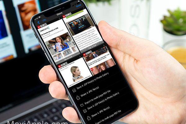 dual multi screen webbrowser iphone ipad 02 600x400 - Dual iPhone iPad - Navigateur Multi-Fenêtres en Mosaïque (gratuit)