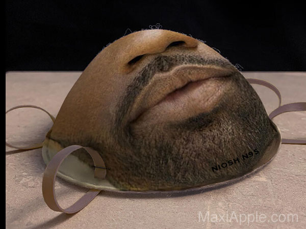 faceidmasks masque chirurgical n95 compatible face id iphone 03 - Masque Chirurgical pour la Reconnaissance Faciale
