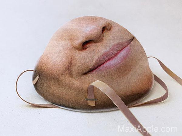 faceidmasks masque chirurgical n95 compatible face id iphone 04 - Masque Chirurgical pour la Reconnaissance Faciale