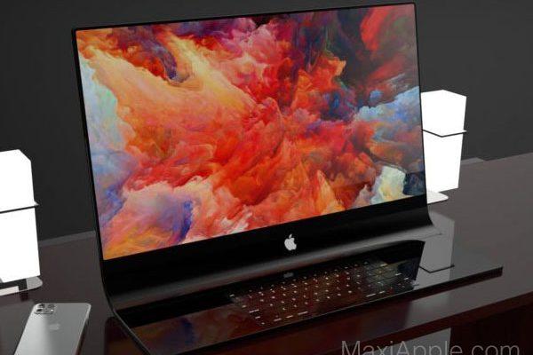 imac 2020 incurve verre brevet concept jermaine smit 01 600x400 - iMac Pro, Design Futuriste en Verre et en Concept (video)