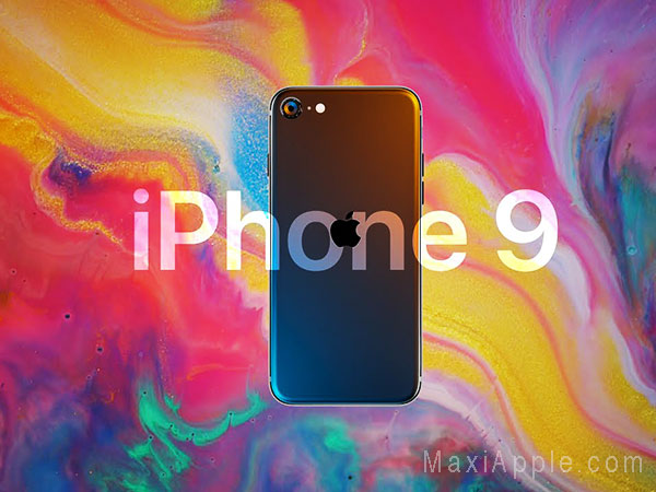 iphone 9 concept mauro battino 01 - Le Prochain iPhone 9 se Découvre en Concept (video)