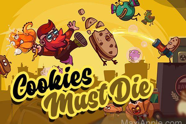 jeu cookies must die iphone ipad gratuit 01 600x400 - Cookies Must Die iPhone iPad - Jeu de Plateforme Epique (gratuit)