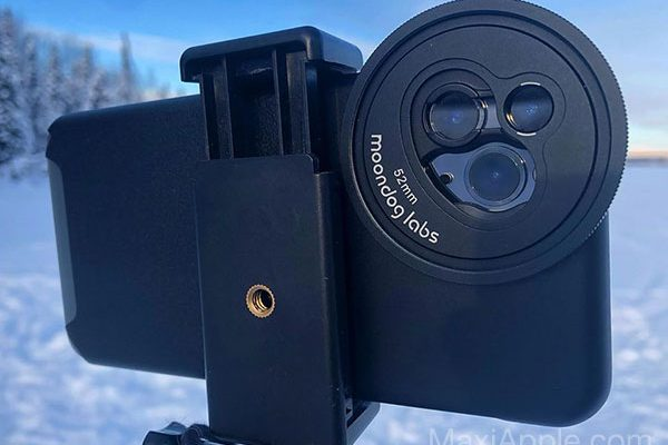 moondog labs adaptateur filtres photo 55 mm iphone 01 600x400 - Adaptateur iPhone 11 pour Filtres Photo 52 mm (video)