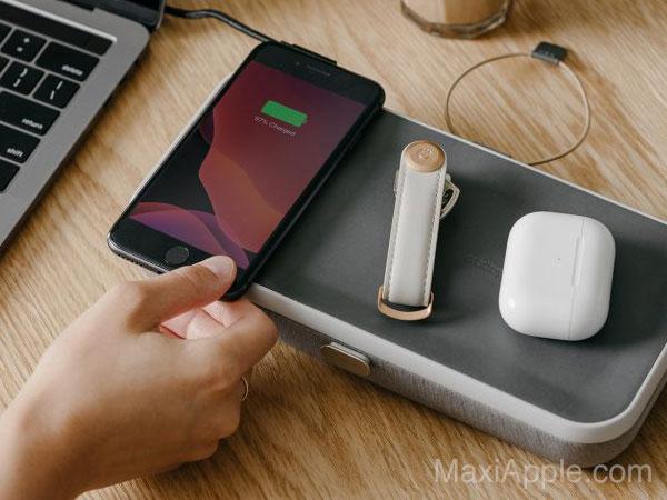 orbitkey nest trousse rangement chargeur sans fil iphone 04 - La Trousse Orbitkey Nest Recharge iPhone et AirPods
