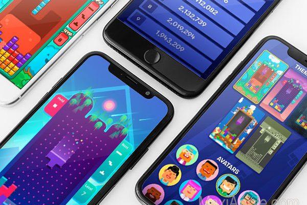 tetris original jeu iphone ipad 02 600x400 - Tetris iPhone iPad - Version Officielle par N3TWORK (gratuit)