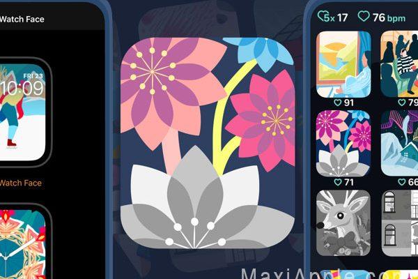 coloring watch montre apple 01 600x400 - Coloring Watch, App de Coloriage pour Montre Apple (gratuit)