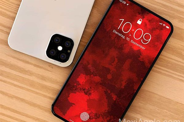 hasan kaymak concept iphone 12 touch id face usb c 01 600x400 - Retour du Touch ID sur un iPhone 12 en Concept (images)