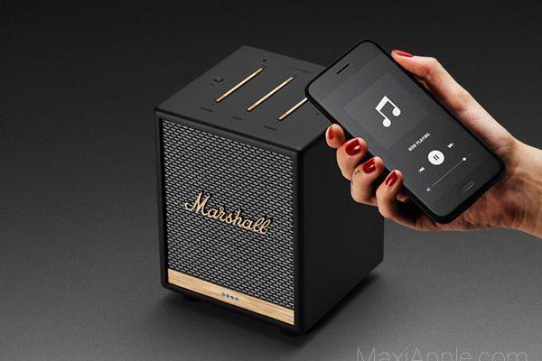 mini enceinte connectee marshall uxbridge voice alexa 02 600x400 - Marshall Uxbridge Voice, Mini Enceinte Connectée (video)