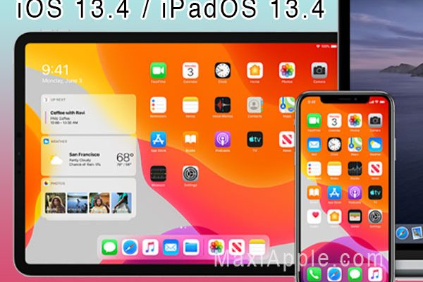 nouveautes test ios ipados 13 4 video 01 600x400 - 15 Nouveautés iOS iPadOS 13.4 iPhone iPad (video Fr)