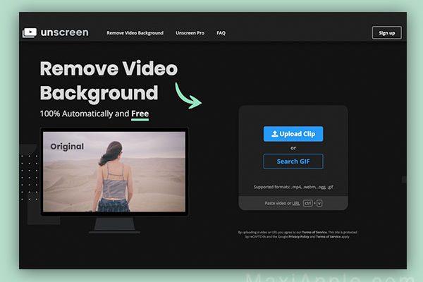 unscreen com detourage video webapp gratuit mac pc 01 600x400 - UnScreen, Outil Video de Détourage Automatique (gratuit)