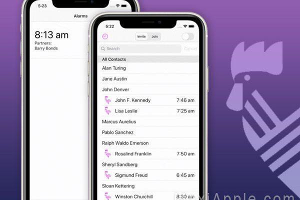 wewake app iphone ipad 1 600x400 - weWake iPhone - Premier Radio Reveil Collaboratif (gratuit)