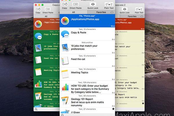 copyless macos mac 01 600x400 - CopyLess 2 Mac - Gestionnaire de Presse-Papiers Avancé (gratuit)