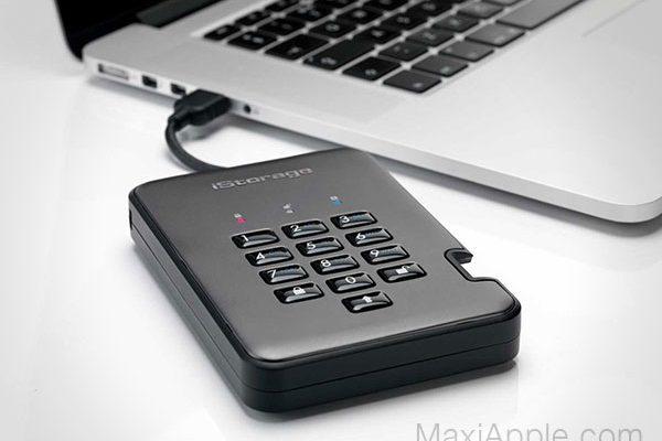 diskashur istorage ssd pro2 mac pc 01 600x400 - DiskAshur PRO2, SSD Sécurisé à Chiffrage Matériel (images)