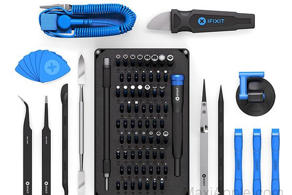 ifixit pro tech toolkit kit reparation iphone ipad mac 01 600x400 - iFixit Pro Tech Toolkit, Kit d'Outils de Demontage Ultime (video)