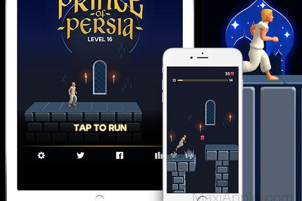 jeu prince of persia iphone ipad ipod touch gratuit 01 600x400 - Prince of Persia iPhone iPad - Retour du Jeu Original (gratuit)