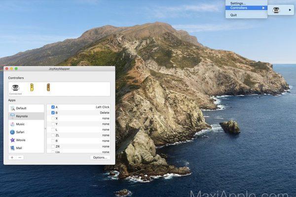 joykeymapper macos mac gratuit 01 600x400 - JoyKeyMapper Mac - Manettes de Jeu en Souris et Clavier (gratuit)