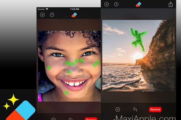 retouch smart eraser tool iphone ipad ios 1 600x400 - Retouch iPhone - Supprimer des Éléments sur une Photo