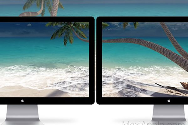sandy beach 3d mac macos 2 600x400 - Sandy Beach 3D Mac - Plage en Fonds d'Ecran Animé