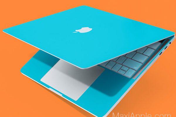 twelvesouth colorkit autocollants couleurs protection macbook pro 8 600x400 - TwelveSouth ColorKit, Stickers Couleurs pour MacBook