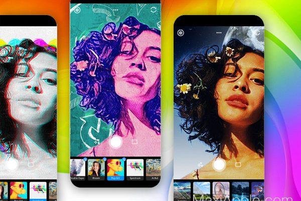adobe photoshop camera ios iphone ipad gratuit 1 600x400 - Photoshop Camera iPhone - Capturer et Editer vos Photos (gratuit)
