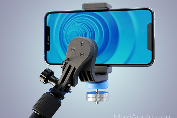 gravgrip mini stabilisateur iphone smartphones gopro kickstarter 01 600x400 - GravGrip iPhone, Mini Stabilisateur Hydraulique à 35 € (video)